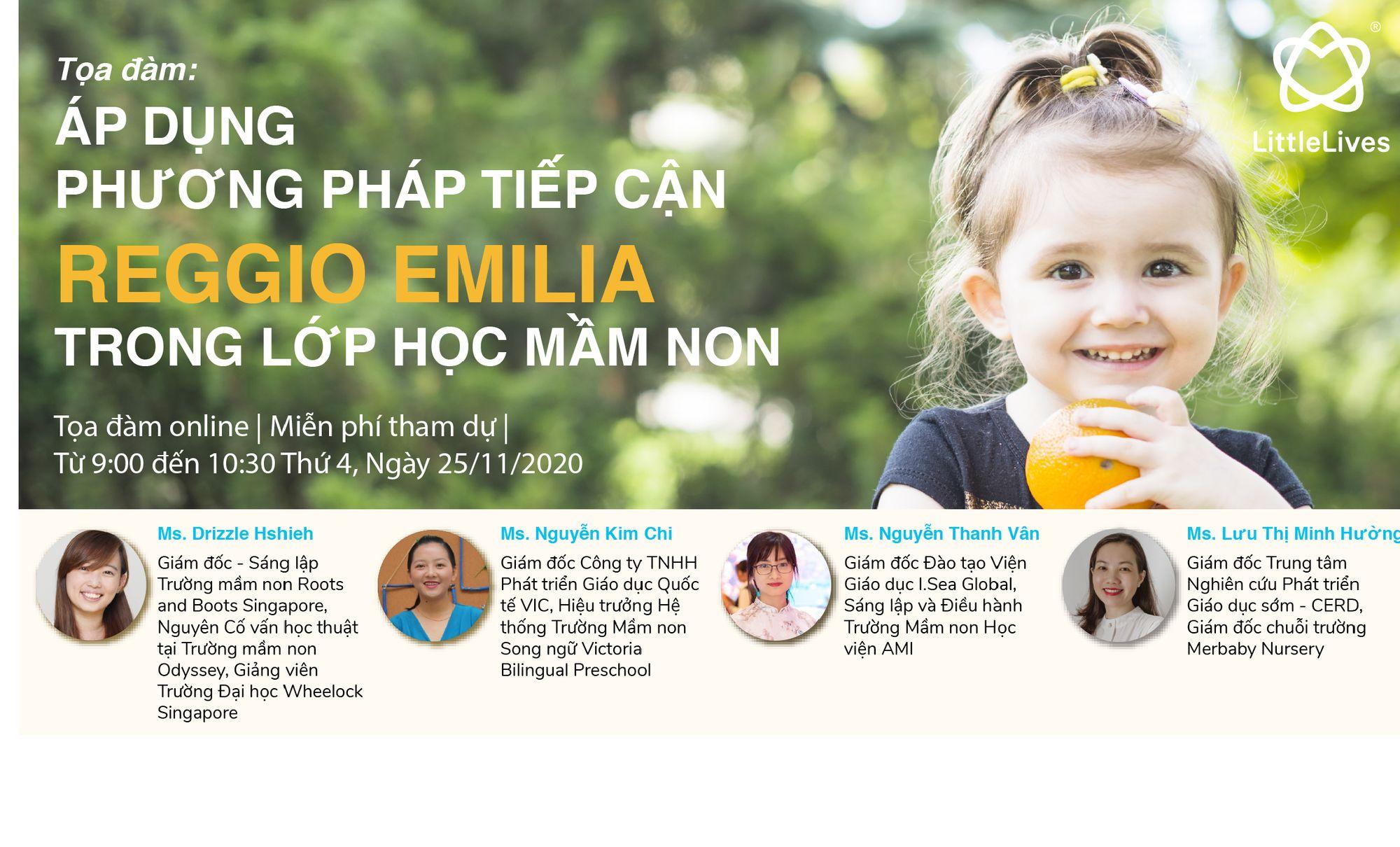 Phương pháp Tiếp cận Reggio Emilia - Trẻ tiếp nhận kiến thức và khám phá thế giới mà trẻ muốn