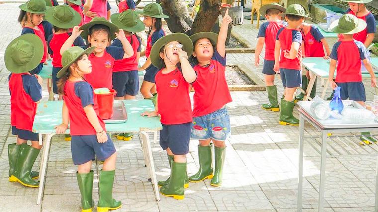 Ươm những Mầm Xanh hạnh phúc cùng Trường Tiểu học THCS Tây Nam Á